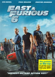 Fast & Furious 6 DVD Movie