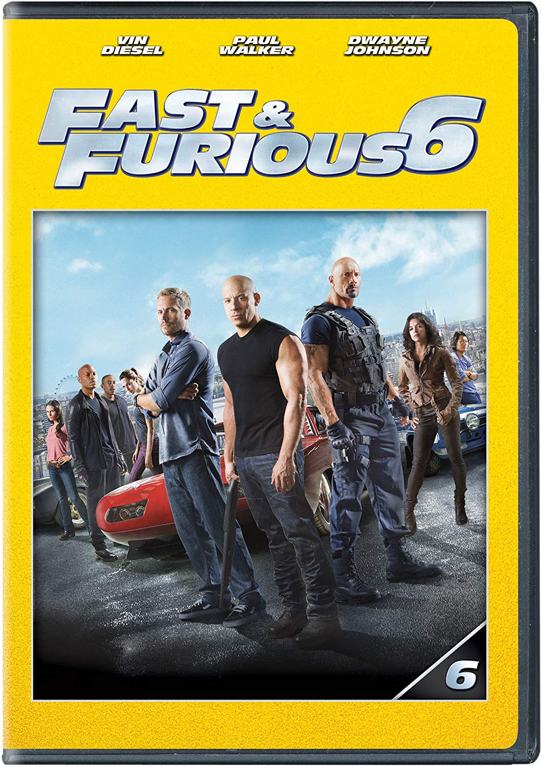 Fast & Furious 6 DVD (USED)