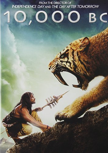 10,000 BC DVD Movie (USED)