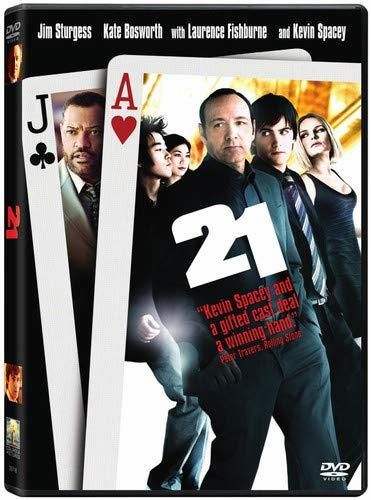 21 DVD Movie (USED)