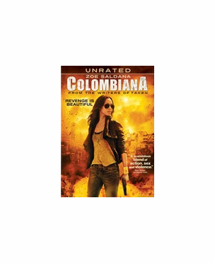 Colombiana Unrated DVD Movie