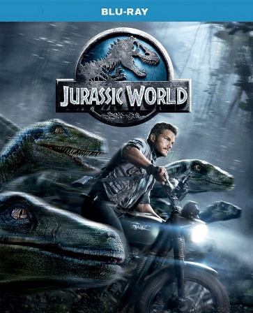Jurassic World Blu-ray Single Disc (USED)