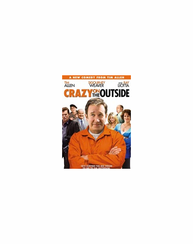 Crazy On The Outside DVD
