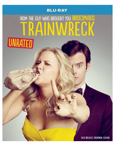 Trainwreck Blu-ray Movie Single Disc (USED)