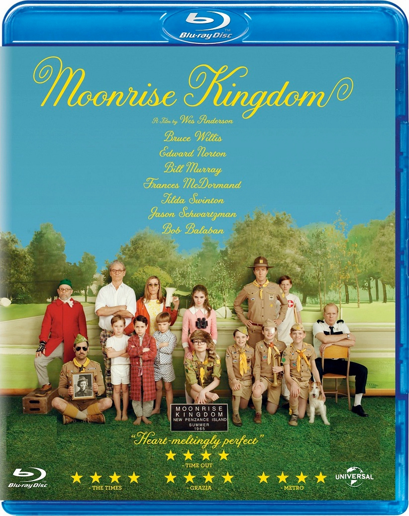 Moonrise Kingdom Blu-ray (USED)