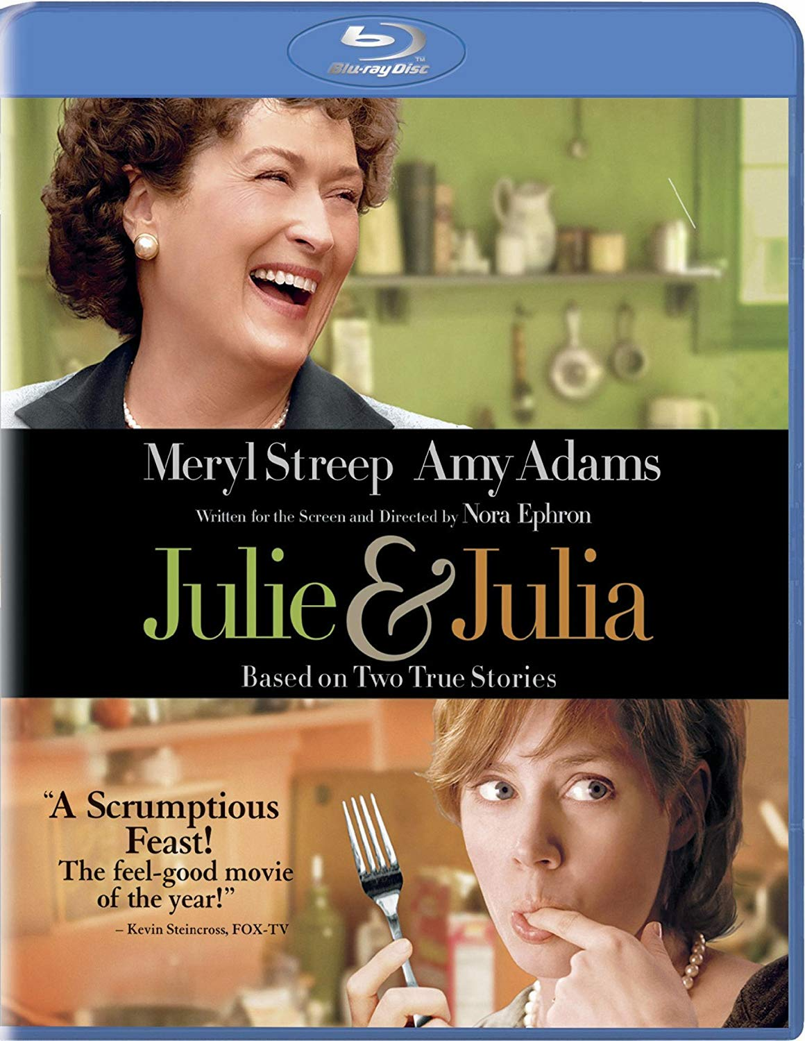 Julie & Julia Blu-ray Movie (USED)