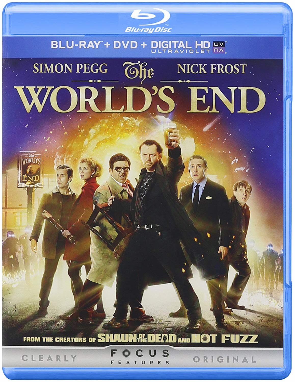 The World's End Blu-ray (USED)