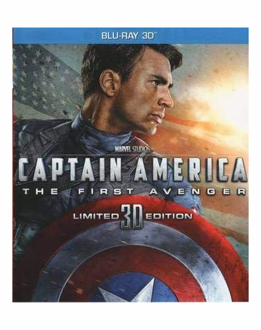 Captain America The First Avenger Blu-ray 3D