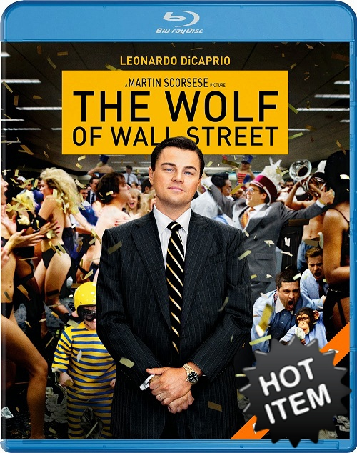 The Wolf Of Wall Street  Blu-ray (USED)