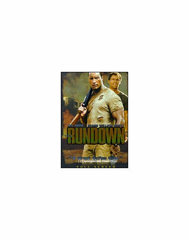 The Rundown DVD Movie Fullscreen (USED)