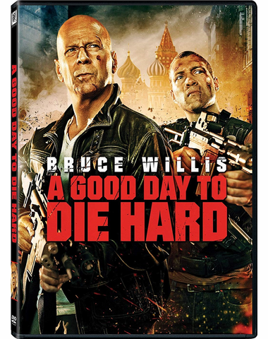A Good Day To Die Hard DVD Movie (USED)