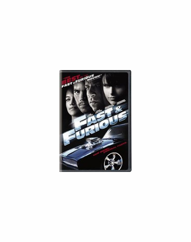 Fast and Furious DVD Movie (USED)