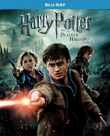 Harry Potter And The Deathly Hallows Part 2 Blu-ray Movie (USED)