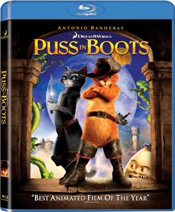 Puss In Boots Blu-ray Movie