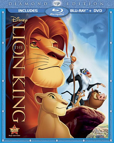 The Lion King (1994) Blu-ray (USED)