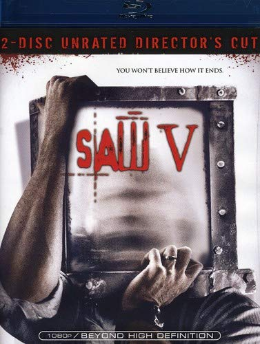 Saw V Unrated Director's Cut Blu-ray Movie (USED)