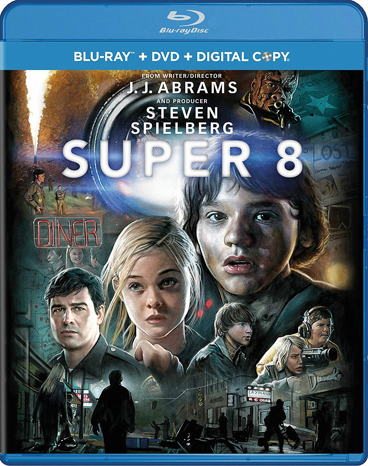 Super 8 Blu-ray Movie (USED)