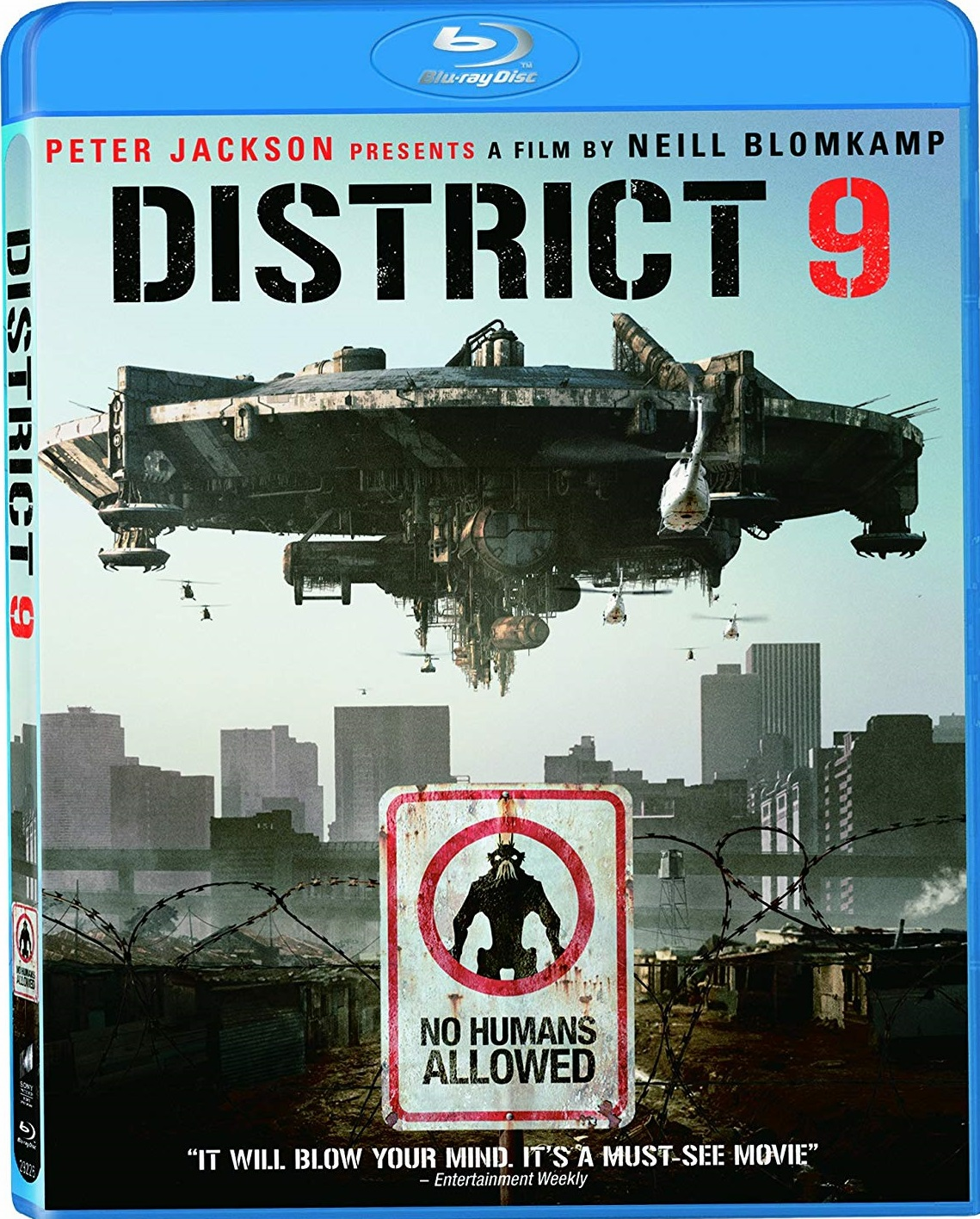 District 9 Blu-ray (USED)
