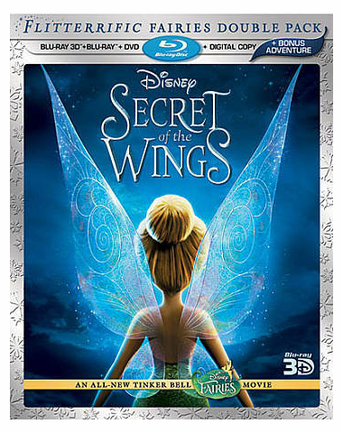 Secret Of The Wings 3D Blu-ray (USED)