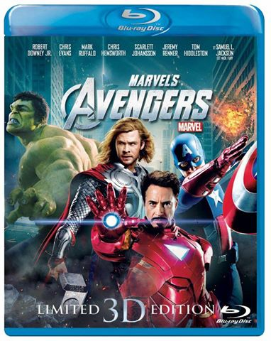The Avengers 3D Blu-ray (USED)