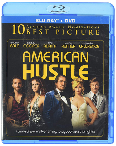 American Hustle Blu-ray (USED)