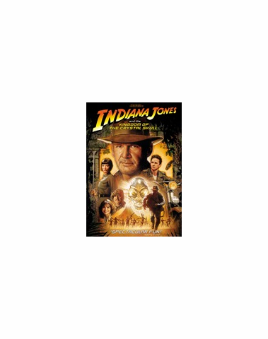 Indiana Jones And The Kingdom Of The Crystal Skull DVD  Movie