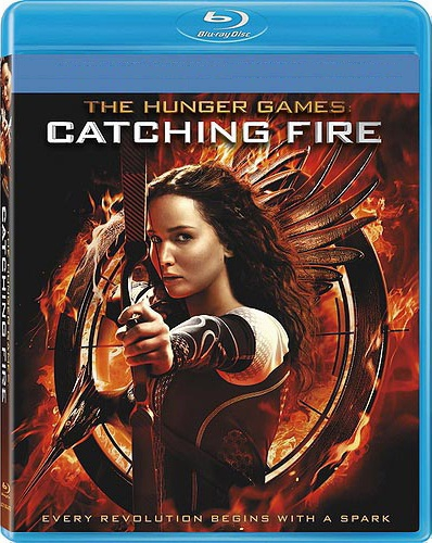 The Hunger Games Catching Fire Blu-ray (USED)