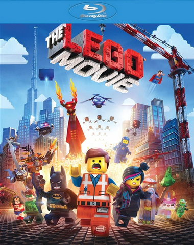 The Lego Movie Blu-ray (USED)
