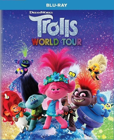 Trolls World Tour Blu-Ray (USED) (PRE ORDER This title will be released on July 7, 2020)