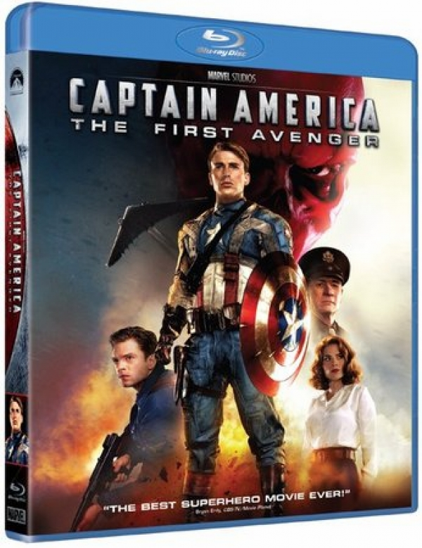 Captain America The First Avenger Blu-ray (ONLY)