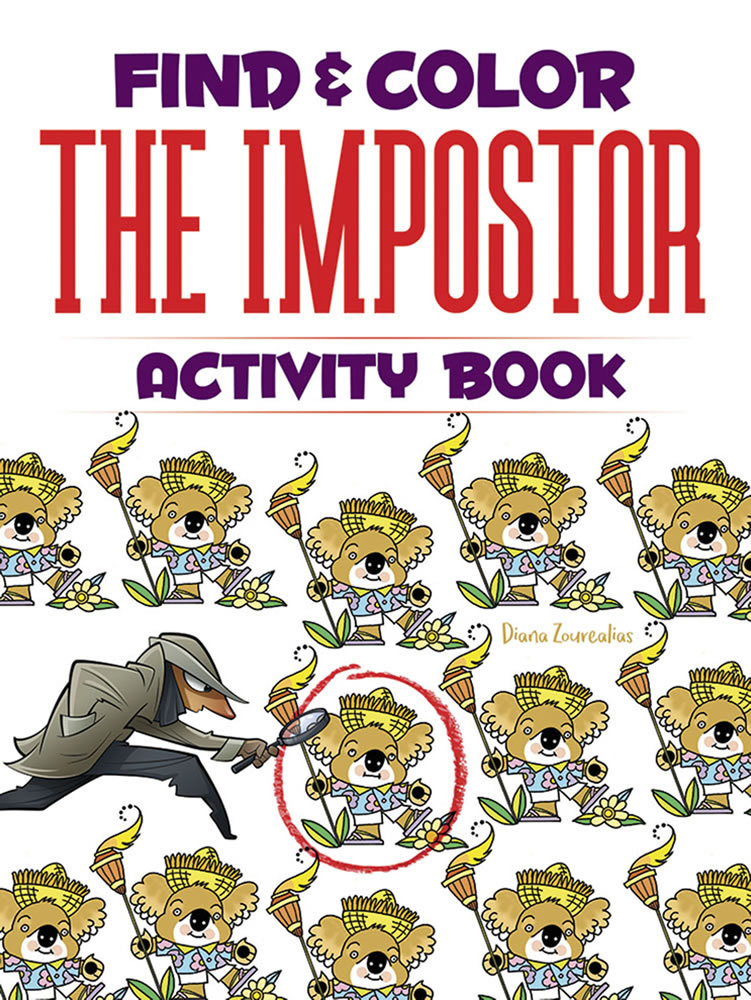 Find & Color the Impostor Activity Book