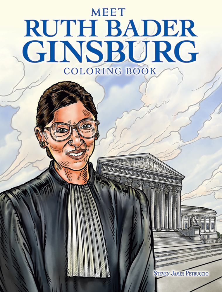 Meet Ruth Bader Ginsburg Coloring Book