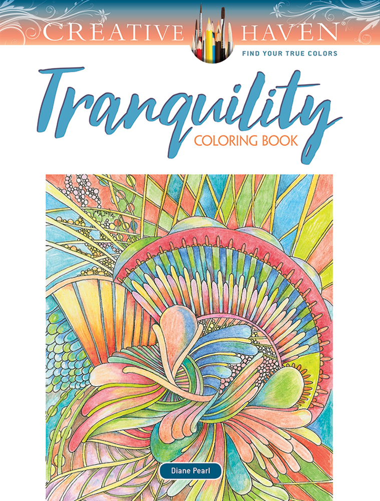 Creative Haven Tranquility Coloring Book