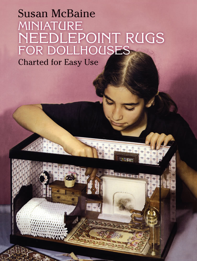 Miniature Needlepoint Rugs for Dollhouses: Charted for Easy Use (eBook)