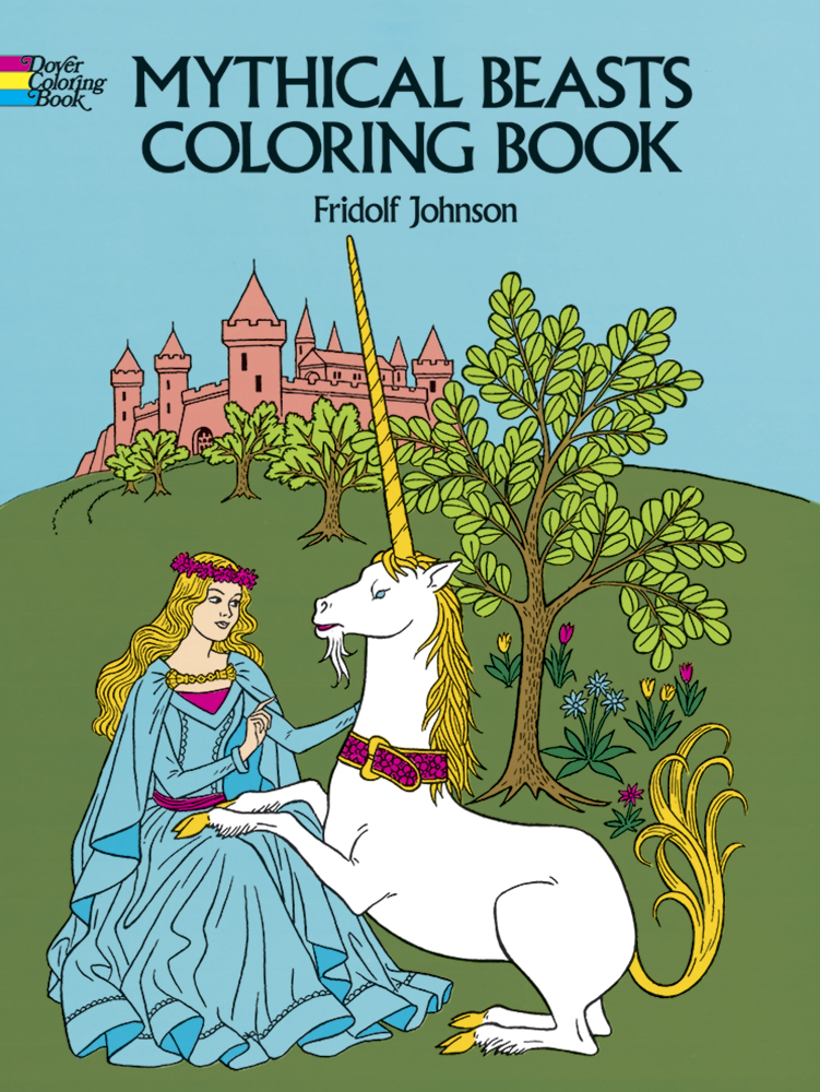 Mythical Beasts Coloring Book