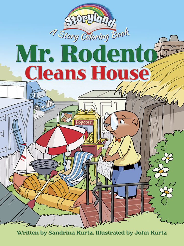 Storyland: Mr. Rodento Cleans House: A Story Coloring Book