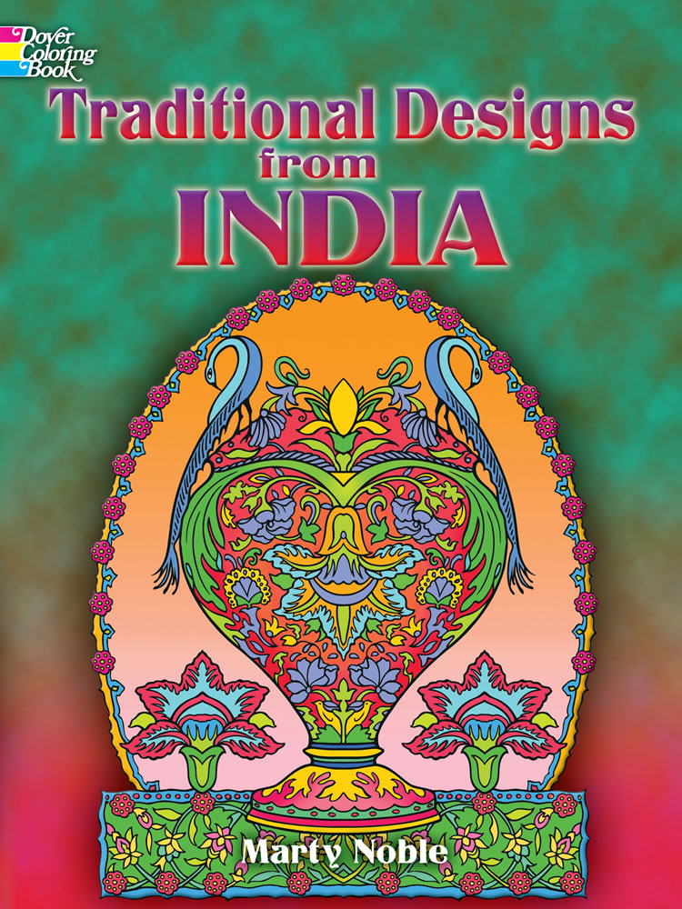Traditional Designs from India Coloring Book