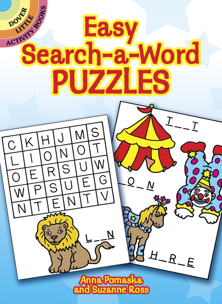 Easy Search-a-Word Puzzles
