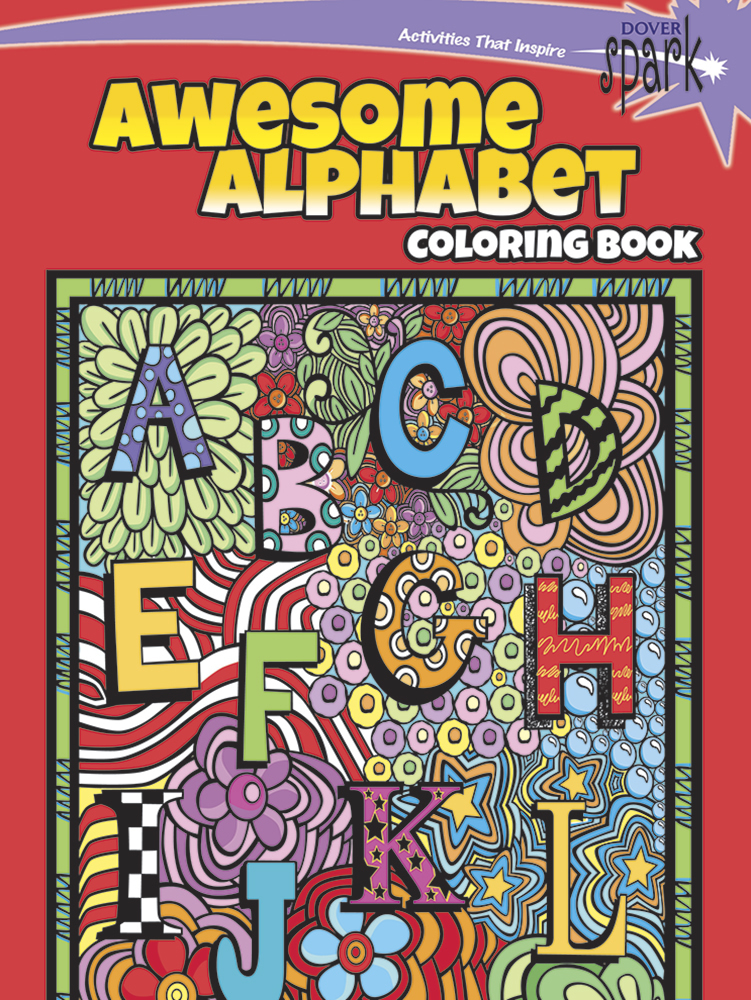 SPARK Awesome Alphabet Coloring Book