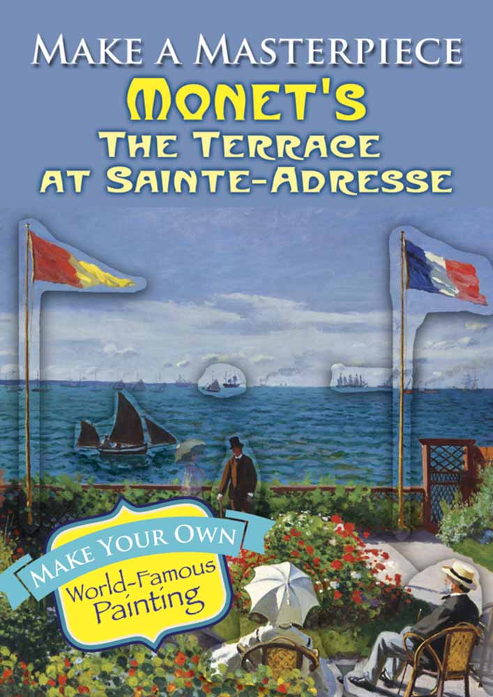 Make a Masterpiece -- Monet's The Terrace at Sainte-Adresse