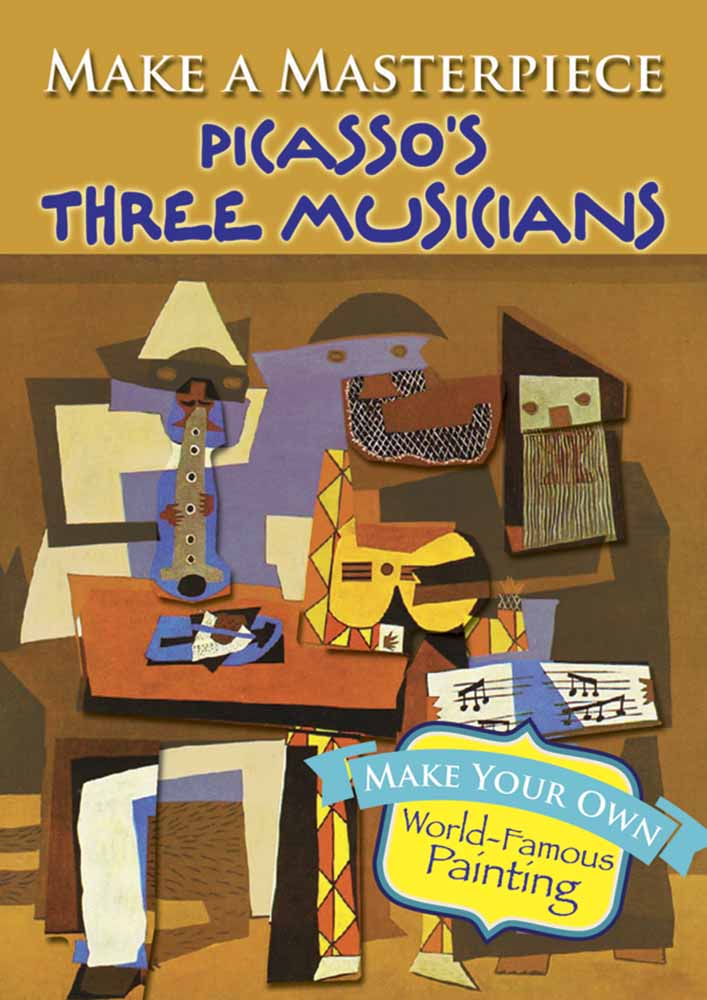 Make a Masterpiece -- Picasso's Three Musicians