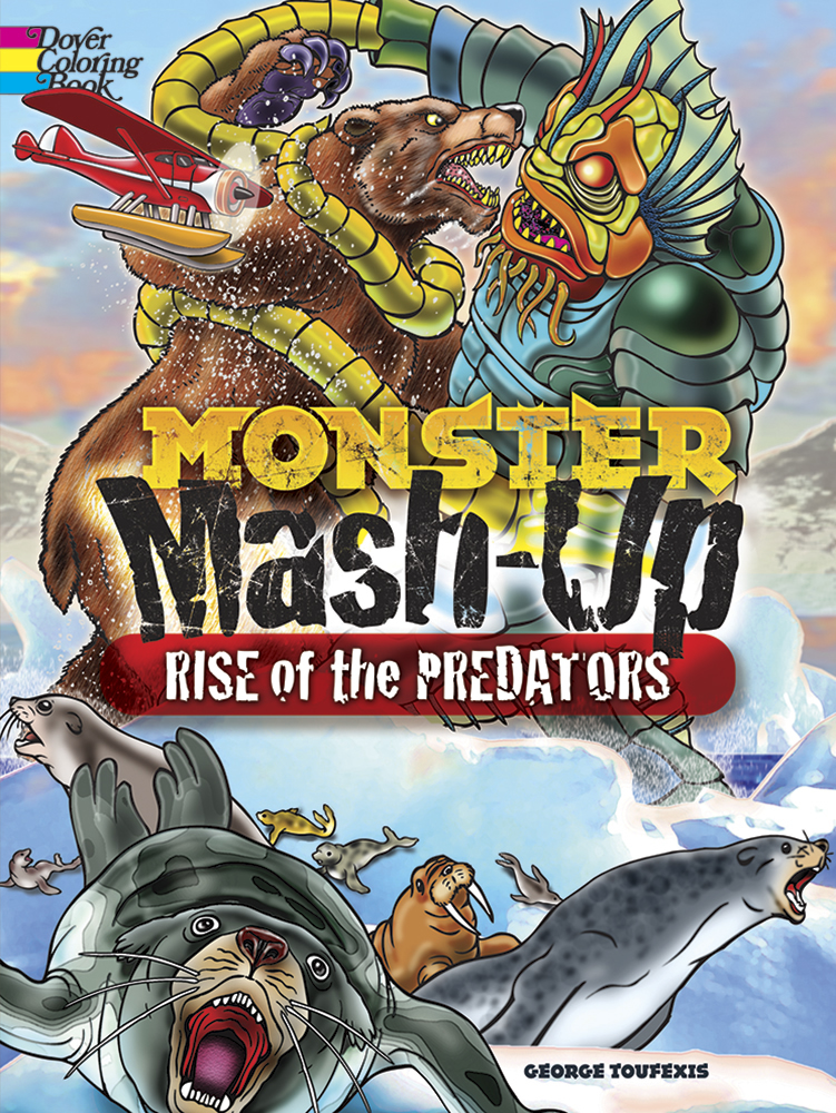 MONSTER MASH-UP--Rise of the Predators Coloring Book