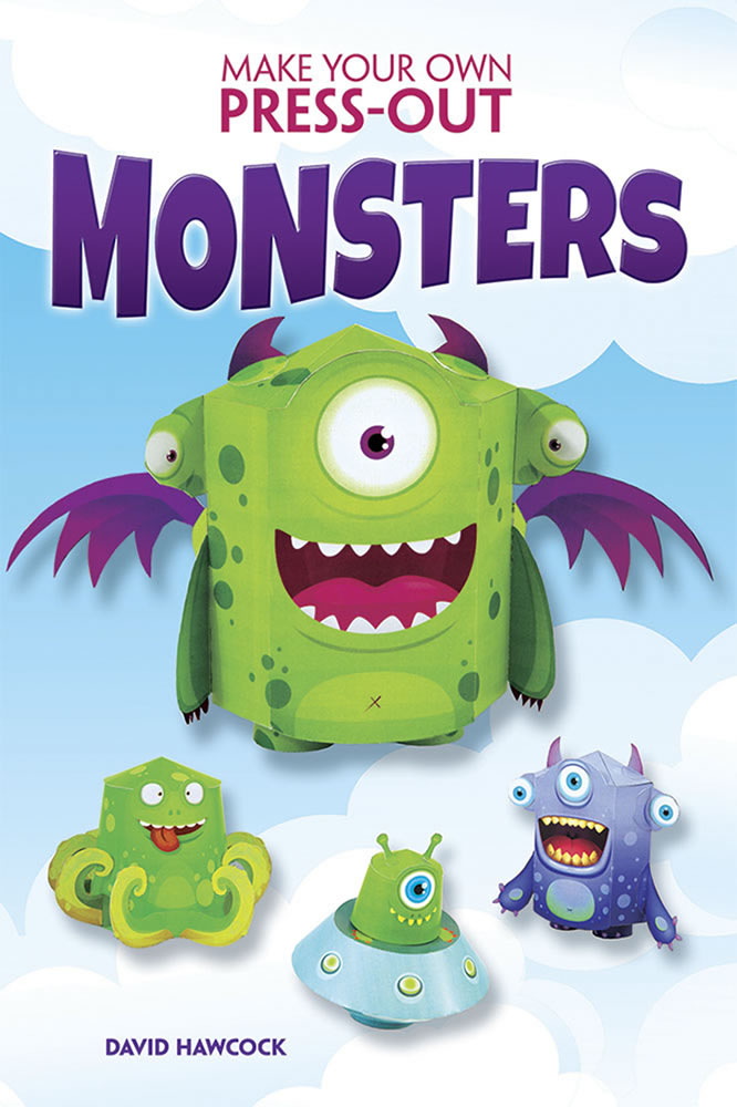 Make Your Own Press-Out Monsters