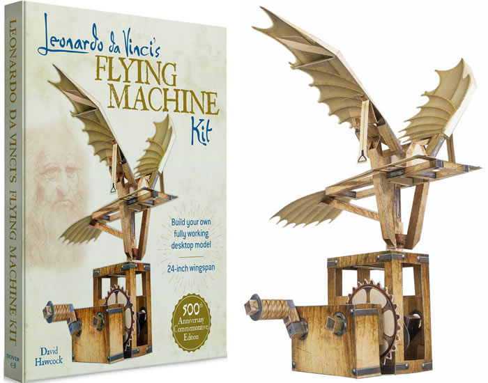 Leonardo da Vinci's Flying Machine Kit