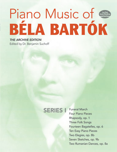 Piano Music of Béla Bartók, Series I: The Archive Edition
