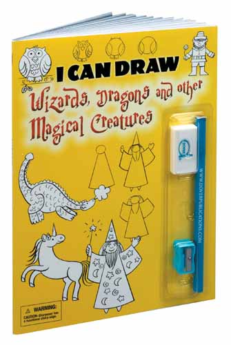 I Can Draw Wizards, Dragons and other Magical Creatures