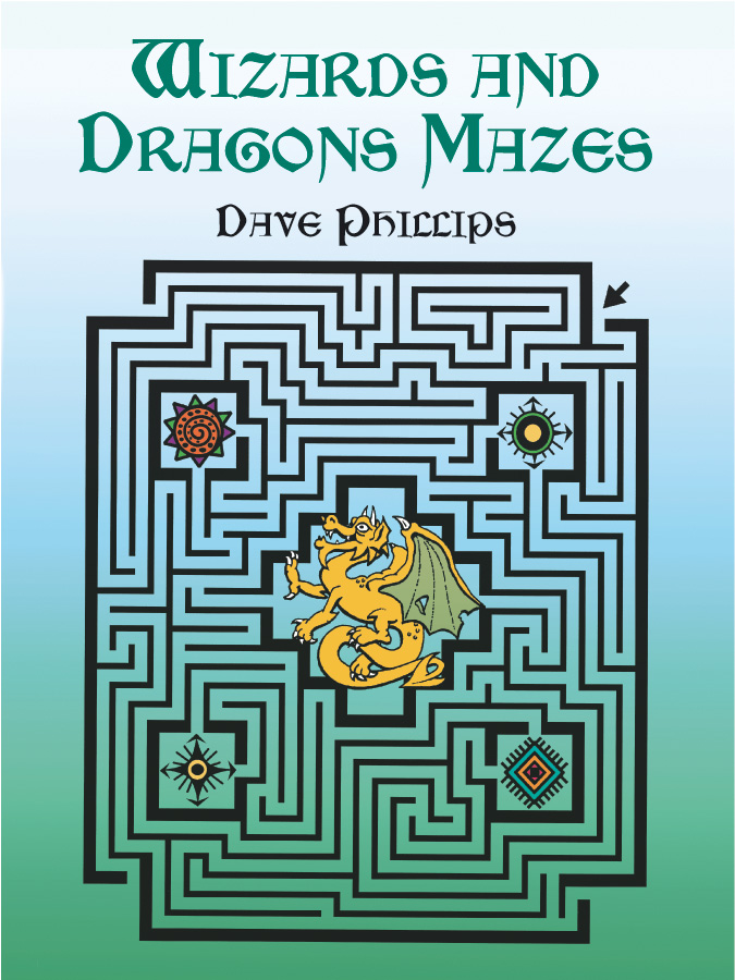 Wizards and Dragons Mazes