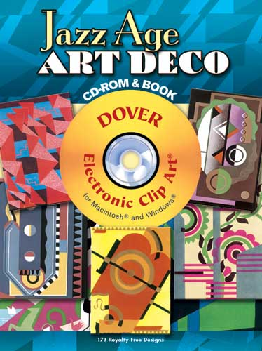 Jazz Age Art Deco CD-ROM and Book