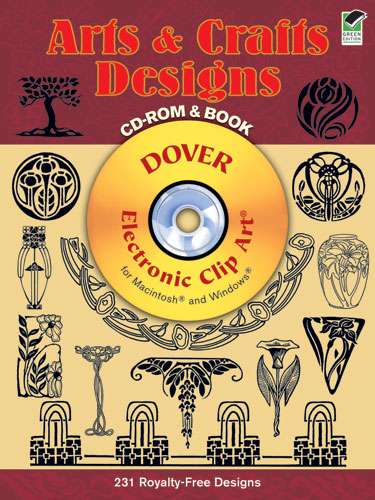 Arts and Crafts Designs CD-ROM and Book
