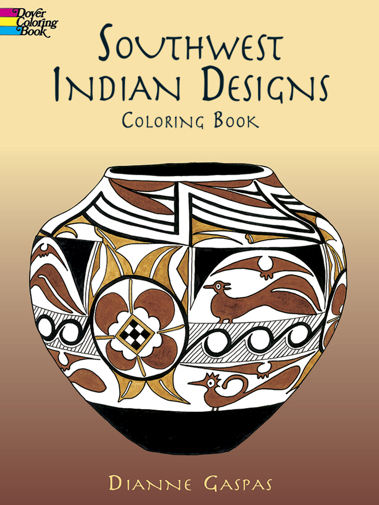 Southwest Indian Designs Coloring Book